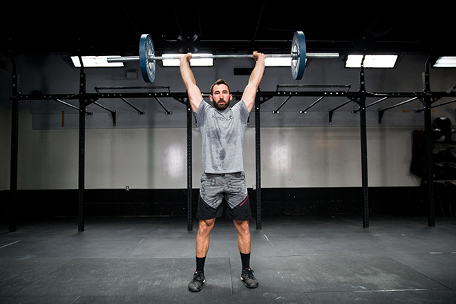 Push Jerk Crossfit Ima... Shia Labeouf